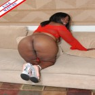 Ebony MILF taking action in her own hands