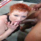 Two mature sluts and a big black cock