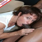 This mature female bodybuilder loves the black cock