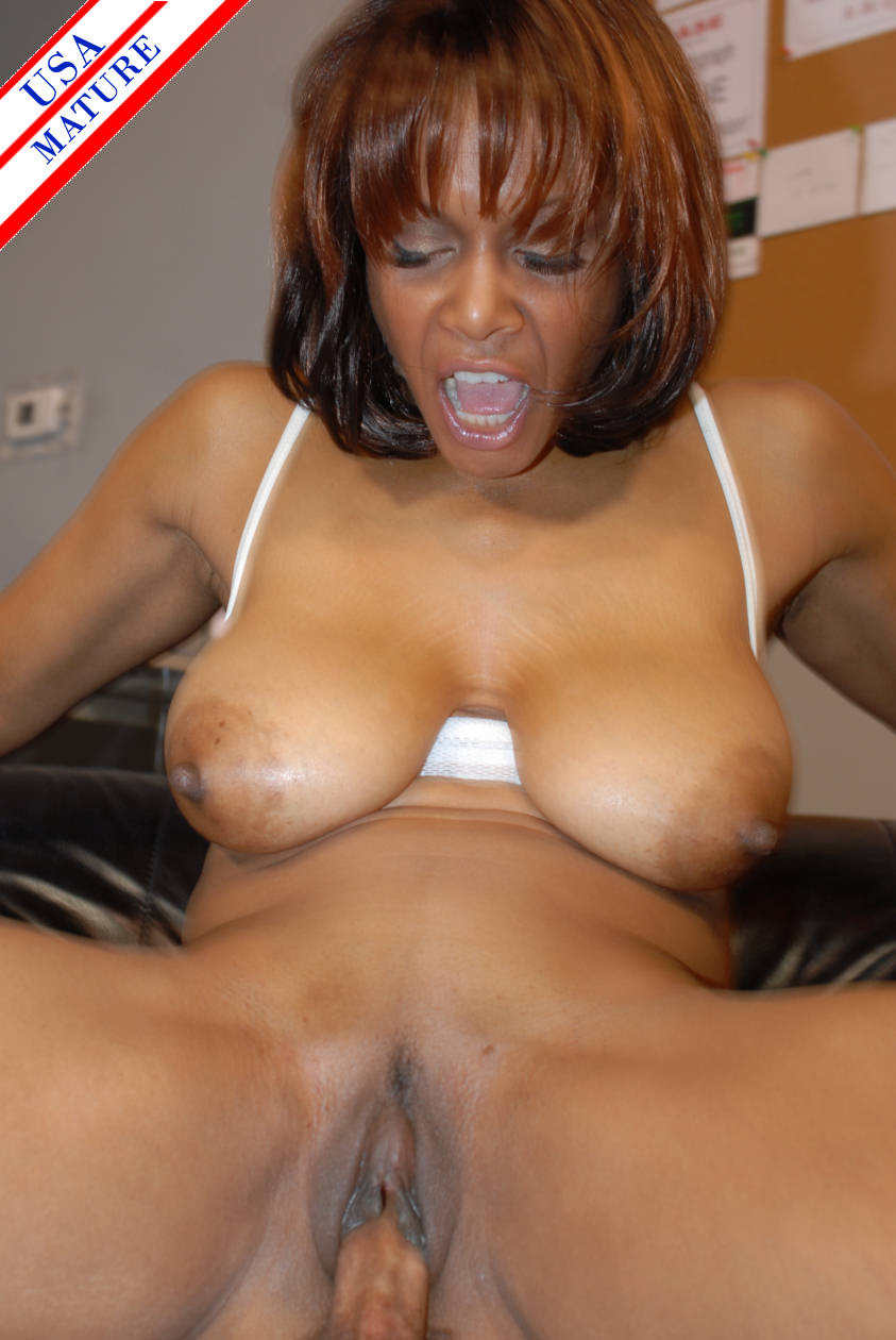 Mature ebony beauties