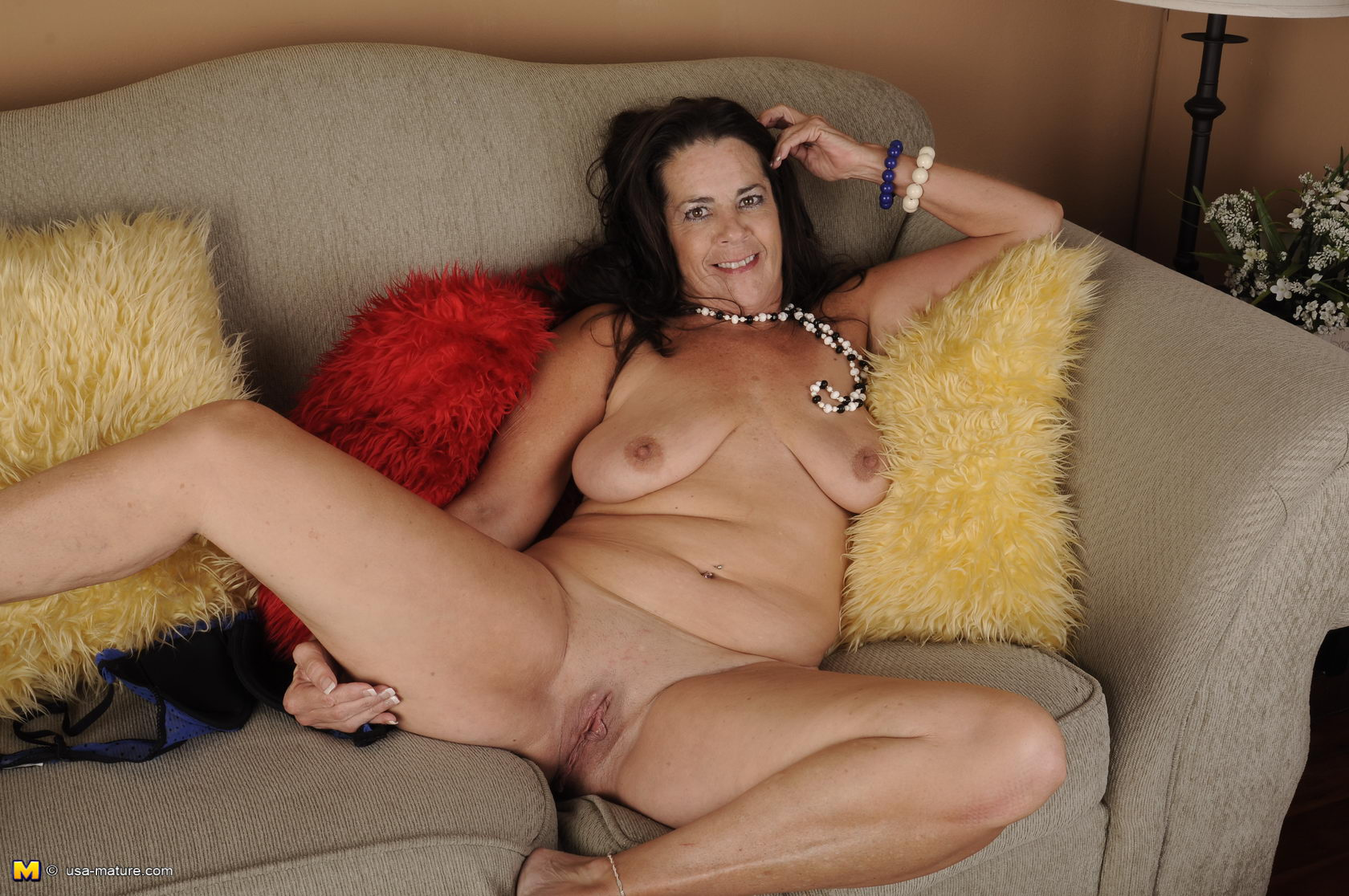 Horny wet mature