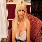 Big breasted blonde mature slut making us go wild