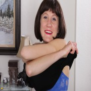 Naughty American housewife playing around