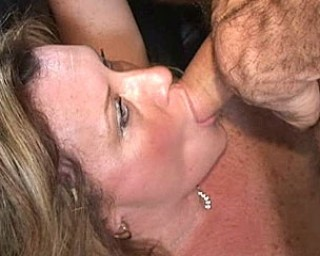 Horny American housewife at her best