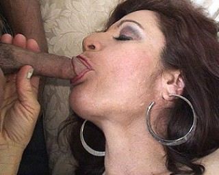 Horny housewife fucking and sucking