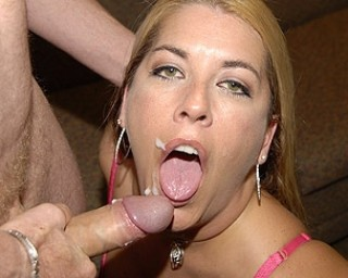 This horny mature slut loves all those cocks