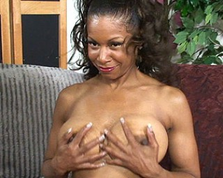 Mature brown sugar gets some serious pounding