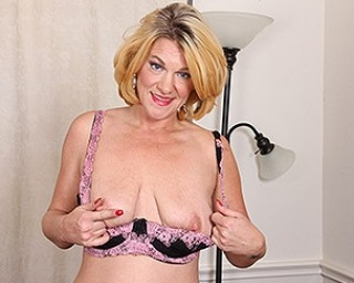 Horny American housewife getting dirty