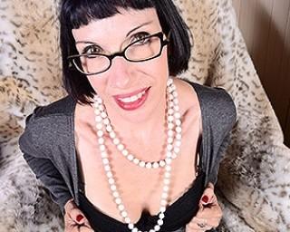 Kinky American housewife masturbating and lactating herself