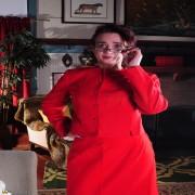 Naughty American housewife playing alone