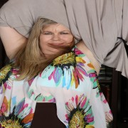 Mature American BBW playing with herself