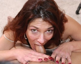 We just love a dirty horny housewife in full action