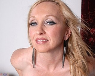 MILF named Madonna gets naked and wild